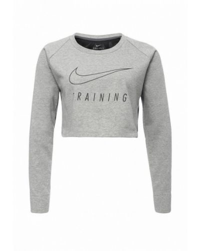 Серый свитшот Nike
