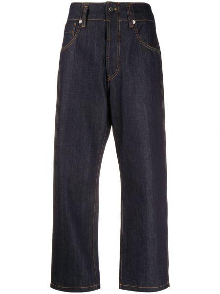 Хлопковые синие свободные широкие джинсы свободного кроя Sofie D'hoore