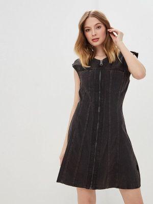 Черное джинсовое платье Cheap Monday