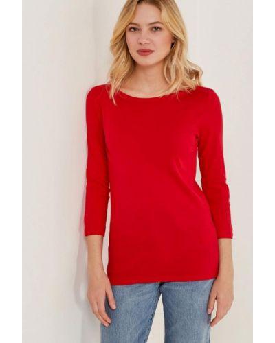 Красный лонгслив United Colors Of Benetton
