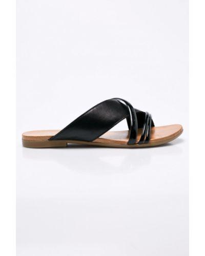 Черные сандалии кожаный Badura