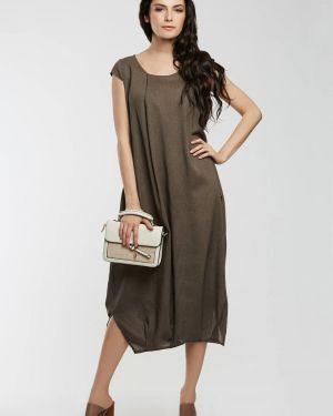 Летнее платье в стиле бохо с разрезами по бокам D`imma Fashion Studio