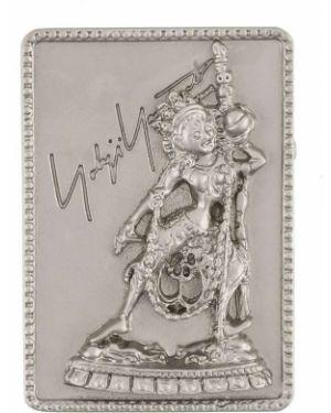 Брошь из серебра серебряный Yohji Yamamoto Pre-owned