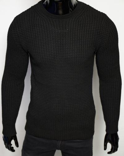 Шерстяной свитер - черный Figo