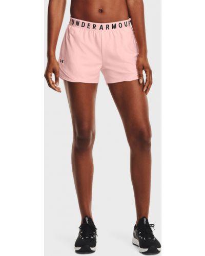 Розовые спортивные шорты Under Armour