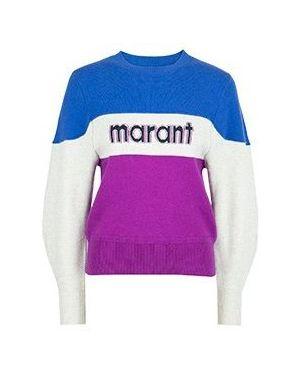 Свитер синий Isabel Marant Étoile