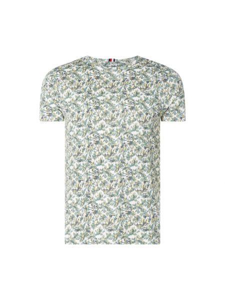 Koszula z logo z haftem Tommy Hilfiger