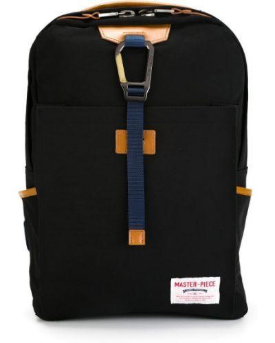 Рюкзак кожаный черный Master Piece