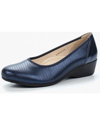 Кожаные туфли на каблуке Shoiberg