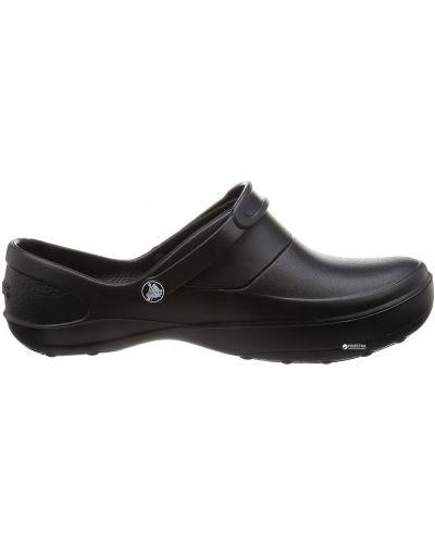 Черные деловые сабо Crocs