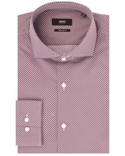 Koszula z mankietami Boss