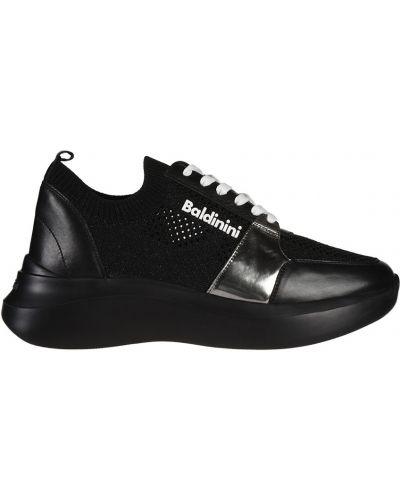 Кроссовки черные Baldinini
