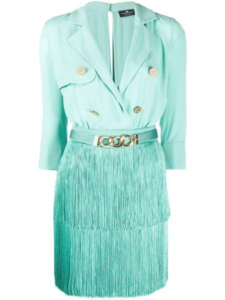 Sukienka na przyciskach Elisabetta Franchi