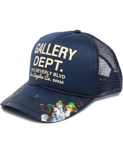 Niebieska czapka z siateczką Gallery Dept.