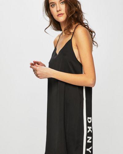 Пижама с рубашкой черная Dkny