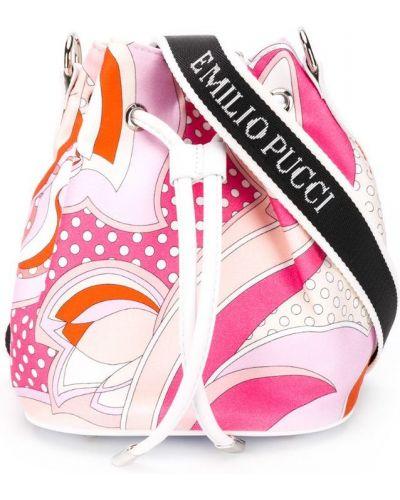 Сумка розовый Emilio Pucci Junior