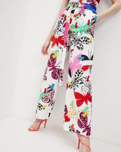 Повседневные белые брюки Weekend Max Mara