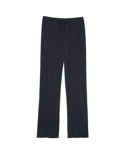 Трикотажные синие брюки на резинке Atlas For Men