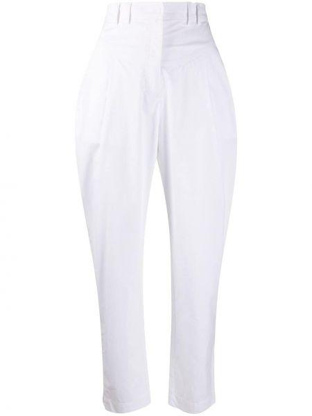 Прямые брюки с воротником на пуговицах Philosophy Di Lorenzo Serafini