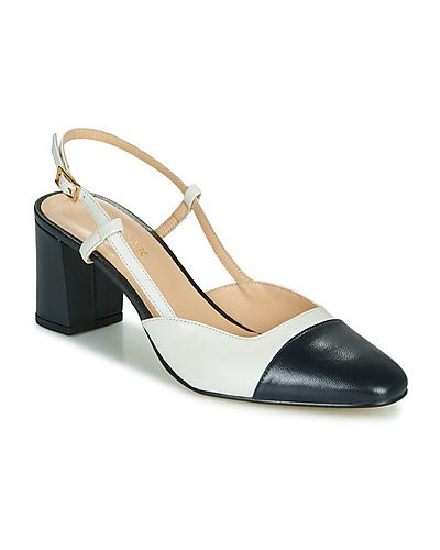 Białe sandały Jonak