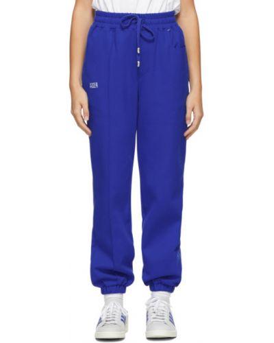 Niebieskie spodnie bawełniane Ader Error
