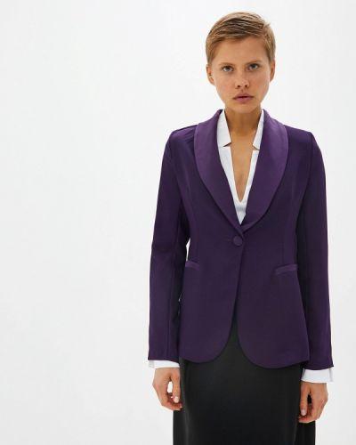 Фиолетовый костюм Massimiliano Bini