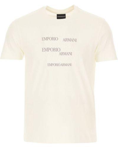 Biała podkoszulka Emporio Armani