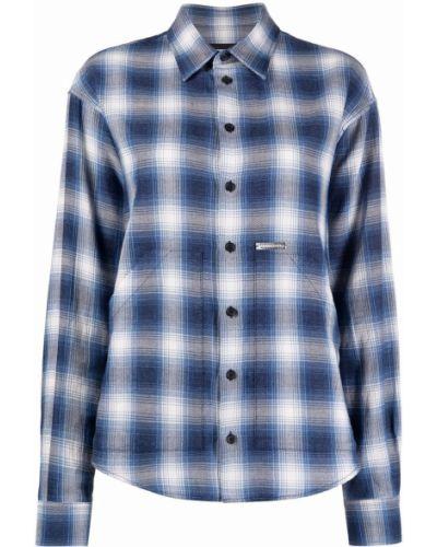 Klasyczna koszula - niebieska Dsquared2