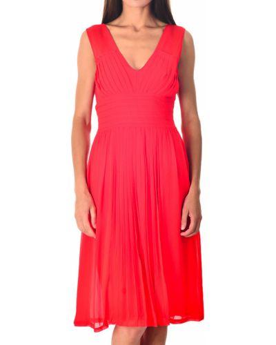 Хлопковое платье - красное Armani Jeans