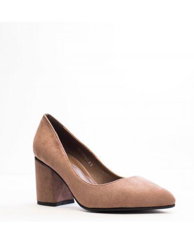 Серые туфли Stefaniya Nina