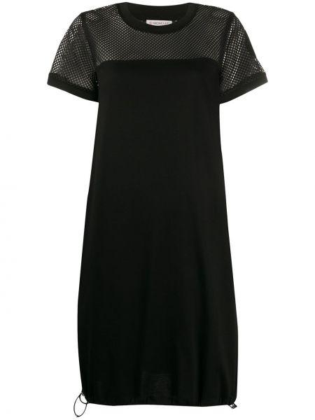 Платье мини миди футболка Moncler