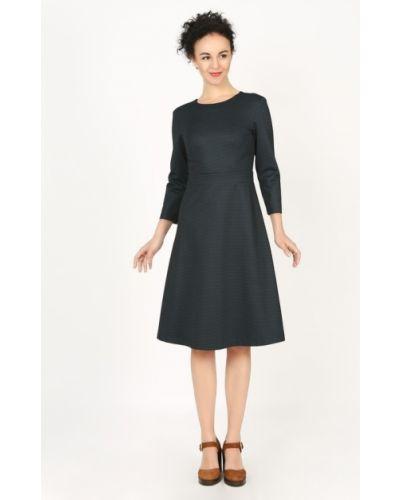 Деловое платье с поясом на молнии Glam Casual