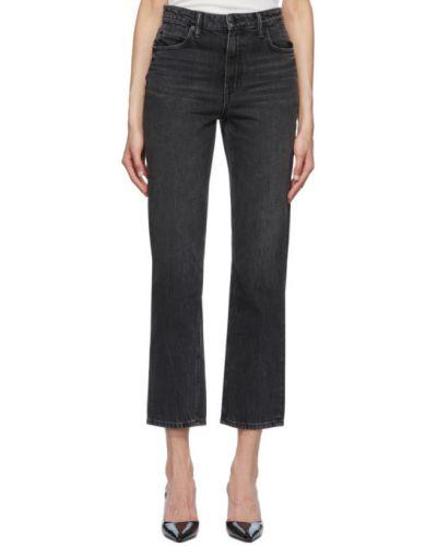 Прямые джинсы укороченные mom Alexander Wang