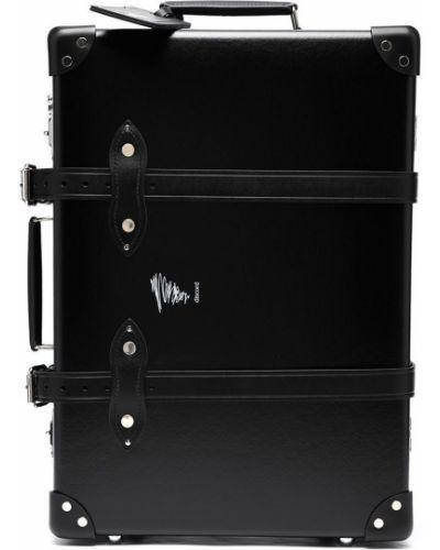Черная кожаная сумка квадратная Discord Yohji Yamamoto