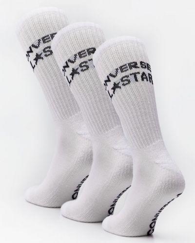Białe skarpety Converse