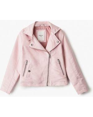 Куртка розовый кожаная Name It