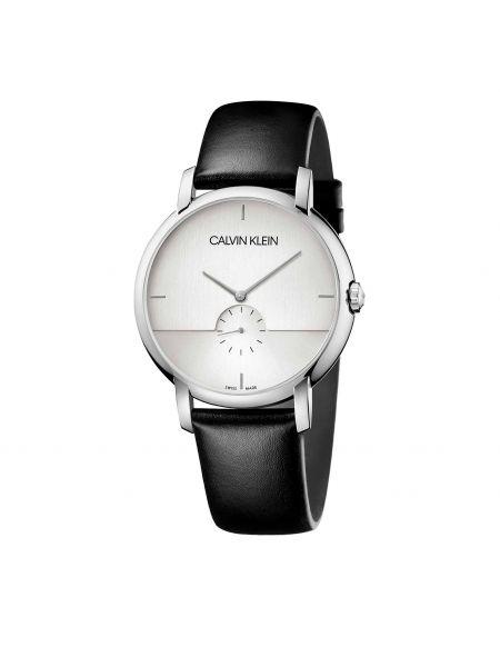 Zegarek srebrny - czarny Calvin Klein