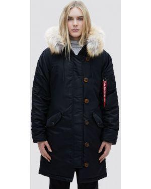 Черная куртка Alpha Industries