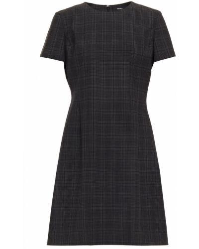 Шерстяное платье мини Theory