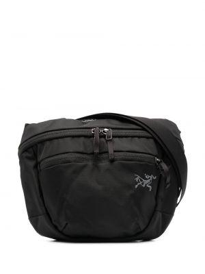 Поясная сумка с логотипом - черная Arcteryx
