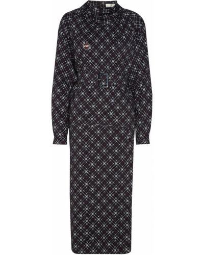 Платье с длинными рукавами - черное Laroom