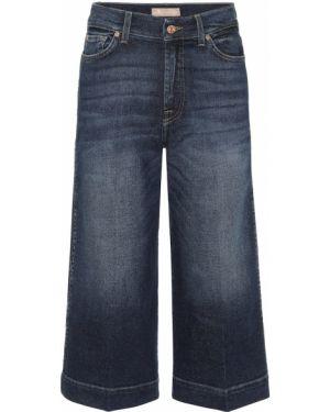Широкие джинсы mom летние 7 For All Mankind