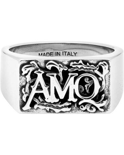 Pierścień srebro Alexander Mcqueen