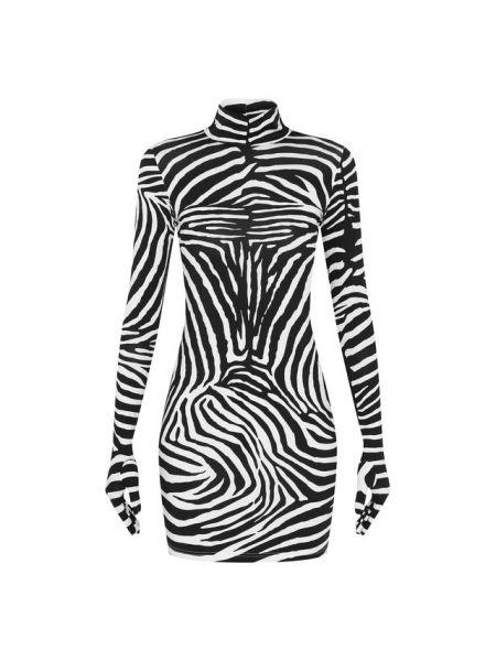 Платье с принтом Vetements