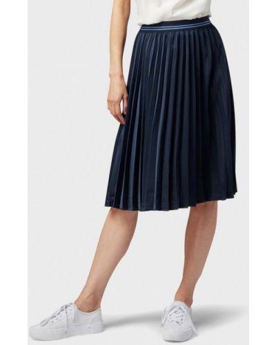 Плиссированная юбка синяя Tom Tailor