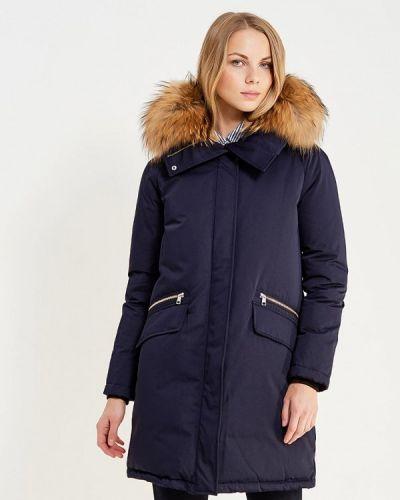 Зимняя куртка осенняя синий Soia & Kyo