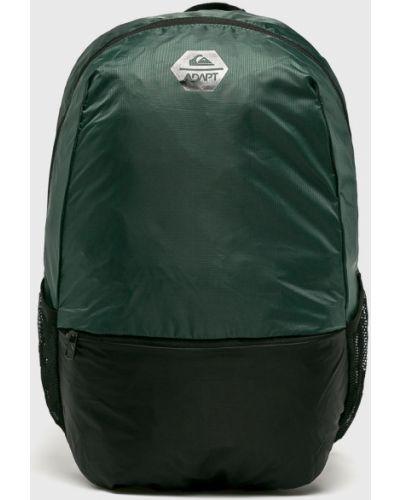 Зеленый рюкзак с отделениями Quiksilver
