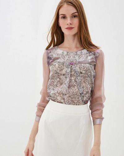 Блузка с длинным рукавом розовая Alexander Bogdanov