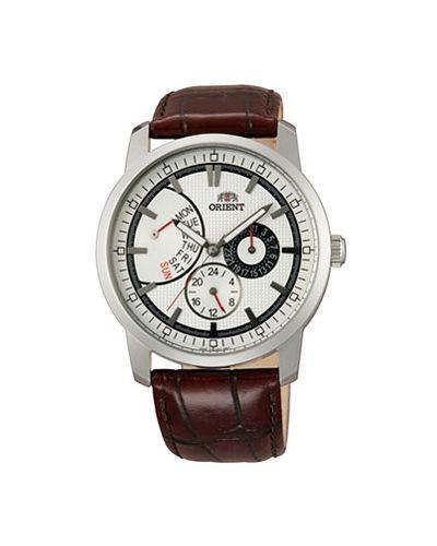 Часы с кожаным ремешком Orient