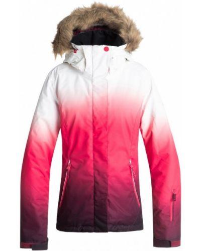Розовая куртка для сноуборда Roxy